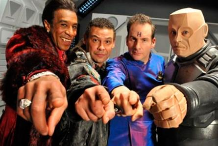 Red Dwarf: re-commissioned for Dave