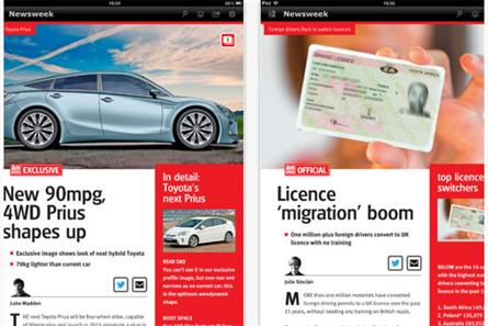 Dennis: unveils Auto Express interactive iPad app