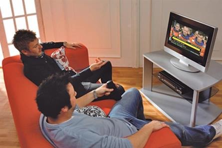 Televsion viewing: survey reveals that young men are now watching less TV