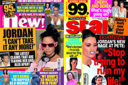 New! and Star: bagged with OK! magazine