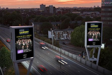 Ocean Outdoor: media owner's screens will feature TalkSport text bulletins