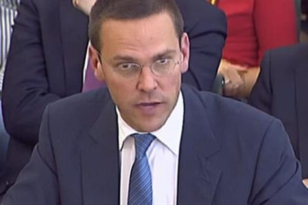 James Murdoch: steps down at BSkyB