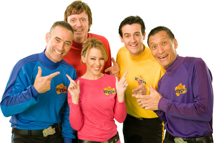 The Wiggles: a KidsCo-programmed show