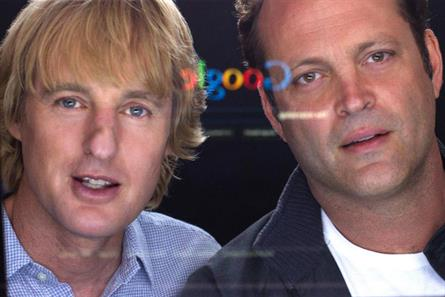 Owen Wilson and Vince Vaughn: star in The Internship