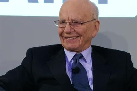 Rupert Murdoch: committed to the launch of the Sun on Sunday this weekend