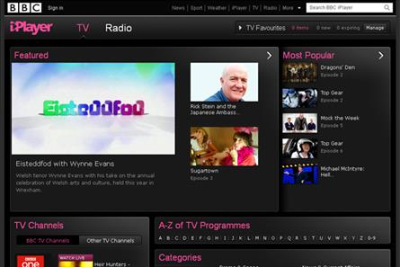 iPlayer redesigned for living room TV push