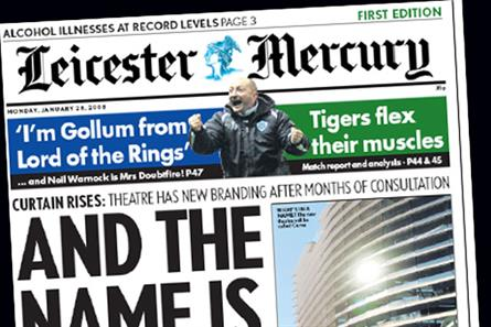 Leicester Mercury: part of the Northcliffe Media regional group