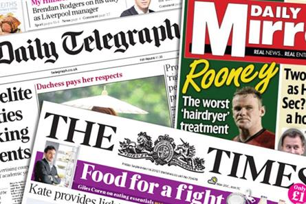 Newspaper ABCs: Games hand papers small boost