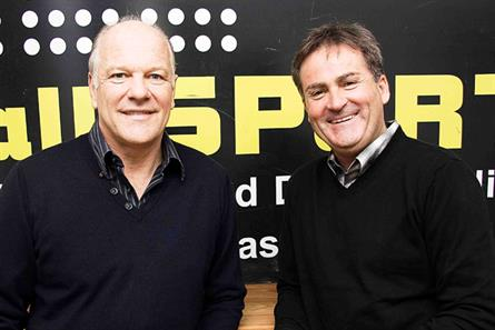 TalkSport: hosts Andy Gray and Richard Keys