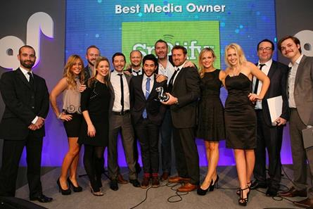 Spotify: triumphs at the IPA Media Owner Awards