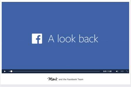 Look Back: Facebook shows movement to personalised video