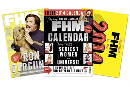 Will Ferrell: on FHM's January cover