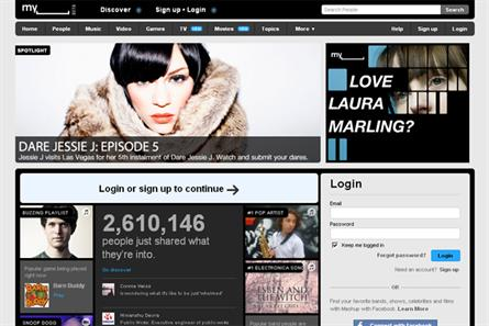 MySpace: News Corporation is expected to announce large scale cuts