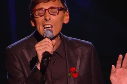 X Factor: Johnny Robinson on Sunday's show