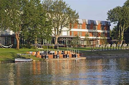 Events have been cancelled due to flooding at the Runnymede-on-Thames conference hotel