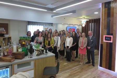 The BI Worldwide events team at the London Marriott Hotel Kensington