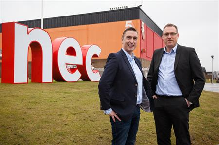 The NEC will donate more than 120 tonnes of food waste a year to Severn Trent Water