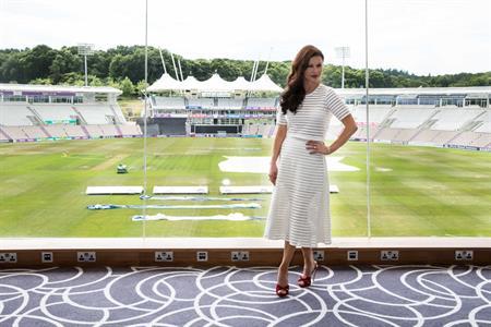 Catherine Zeta-Jones launches new Ageas Bowl Hilton