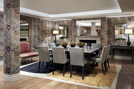 Duncan Grant Room, Charlotte Street Hotel, London (©Colin Brown)