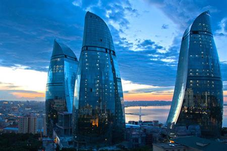 Fairmont Baku inside the Flame Towers