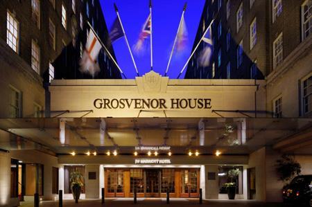 London's Grosvenor House Hotel