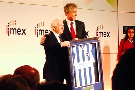 IMEX's Ray Bloom and Bill McDermot, CEO of SAP