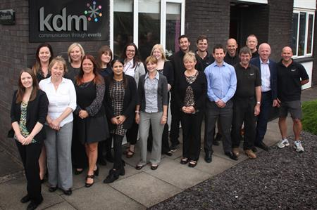 KDM Events' expanded team