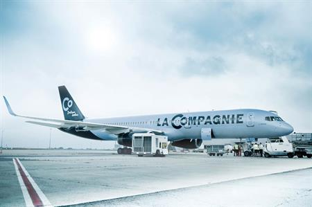 La Compagnie launches all-business-class flights from London to New York
