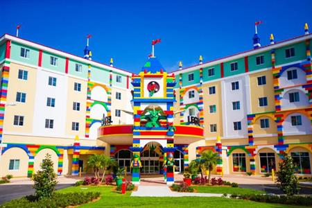 Legoland Florida hotel (©Chip Litherland for LEGOLAND Florida/Merlin Entertainments Group)