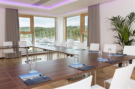 Portavadie resort has opened its new spa with state-of-the-art meetings facilities