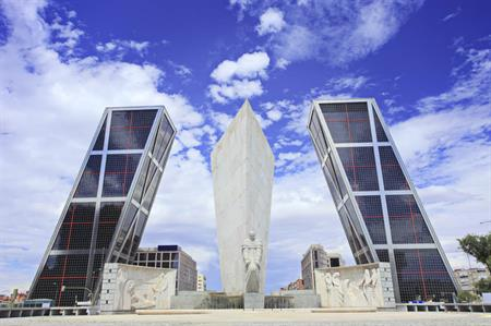 Puerta de Europa buildings, Madrid