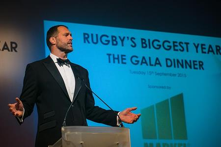 Rugby's Biggest Year gala dinner