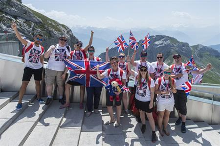 Team GB at the Switzerland Meeting Trophy 2015