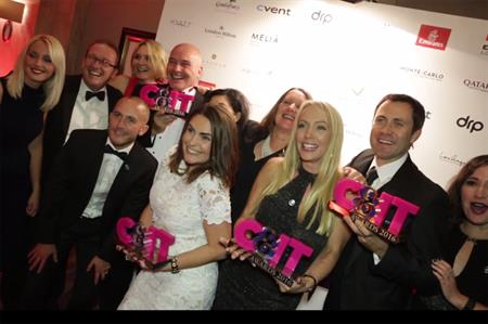 Winners celebrate at the C&IT Awards in September
