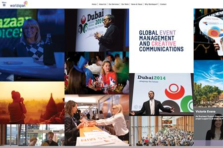 Worldspan's new website