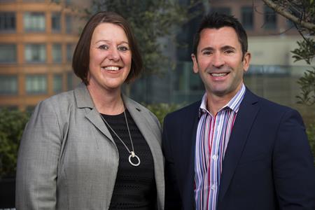 Jacquie Freer and Chris Parnham