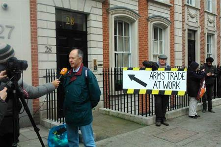 Clarion Events targeted by anti-arms trade campaigners