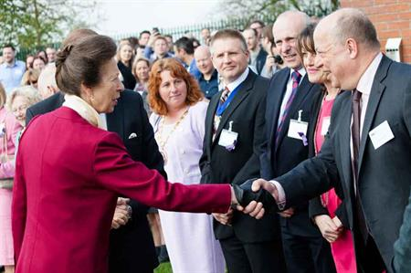 The Princess Royal attends DRP's Young Carers conference