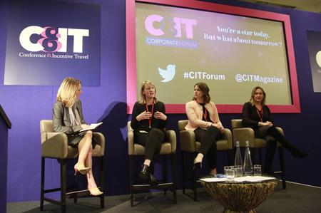 Event planners from Clarks, Barclays and L'Oreal at Corporate Forum