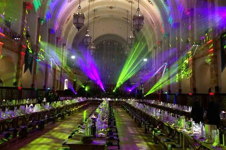 Employees from the law firm Gateley enjoyed the Harry Potter event by Eventologists