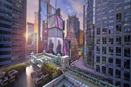 New York's legendary Knickerbocker Hotel reopened its doors yesterday (12 February)