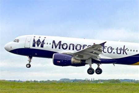 Monarch Airlines is adding 15 routes to popular winter sun destinations