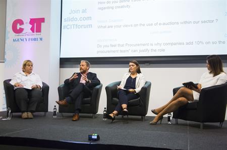 The procurement panel at C&IT's Agency Forum