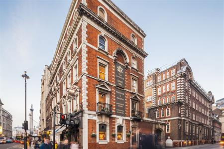 The £110m hotel will open at Great Scotland Yard in London's Whitehall