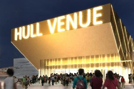 An artist's impression of the venue