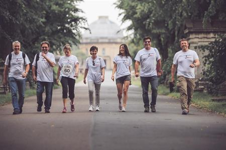 More than 60 event professionals took part in the Howard's Way Walk
