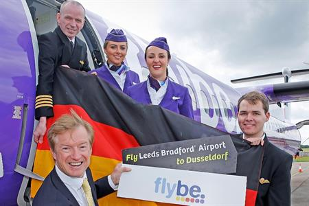 Passengers will be able to travel from Leeds to Dusseldorf from 29 October