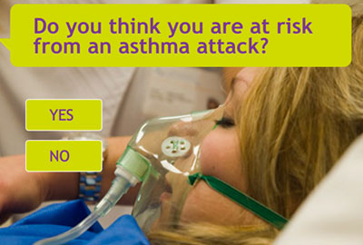 Asthma UK has launched a new online asthma test