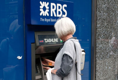 RBS cashpoint