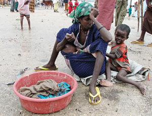 Appeals for disasters, such as the East African famine, have done well at HSBC machines